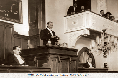 HALK PARTİSİ'NİN KURULUŞU – M. Kemal Atatürk